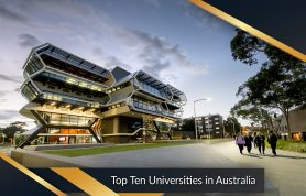 Ranking of Top Ten Best Australian Universities