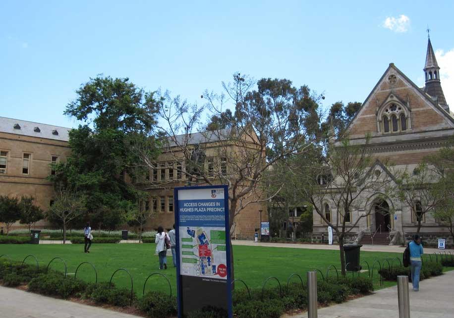Ranking of top 10 australian Universities